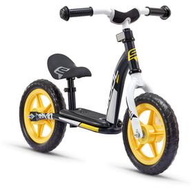 s'cool pedeX easy 10 Enfant, black/yellow matt